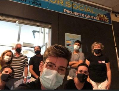Els organitzadors de l'Anella Tapa donen l'excedent al menjador social de Bonavista