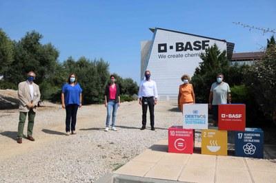 L'Ajuntament de Tarragona i BASF signen un conveni de patrocini per a les festes de santa Tecla