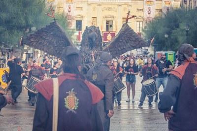 """L'alcalde s'adreça a les entitats del Seguici per tal de fer una festa """"consensuada i unitària"""""""