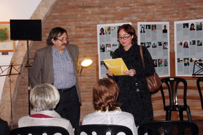 Inauguració exposició Santesmases