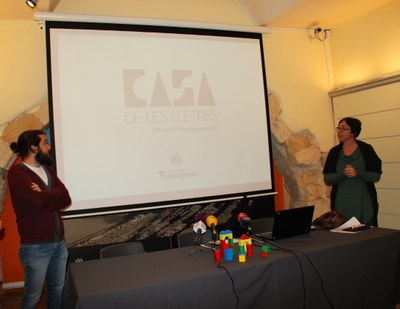 Presentació Casa de les Lletres premsa