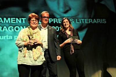 Guanyadora del premi Tinet 2019