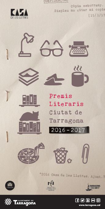 L'Ajuntament convoca la 27a edició dels Premis Literaris Ciutat de Tarragona