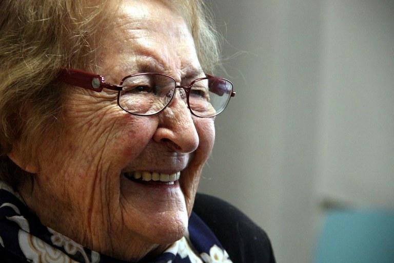 El retrat de Montserrat Abelló s'exposarà demà amb la resta de Tarragonins Il·lustres