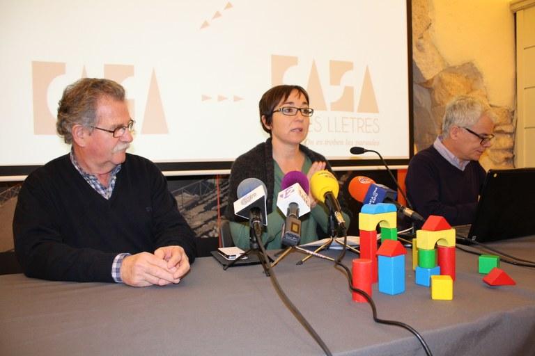 Cultura presenta l'anunciat projecte de la Casa de les Lletres