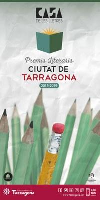 Oberta la 29a convocatòria dels Premis Literaris Ciutat de Tarragona