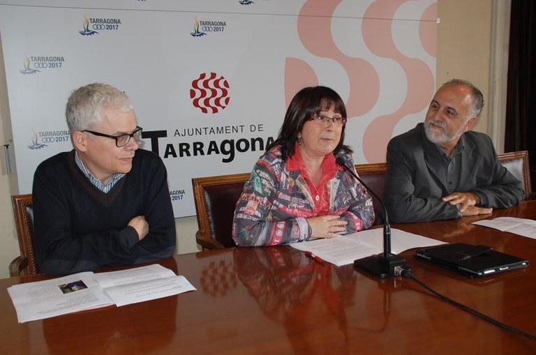Presentació de les activitats literàries al voltant de Sant Jordi