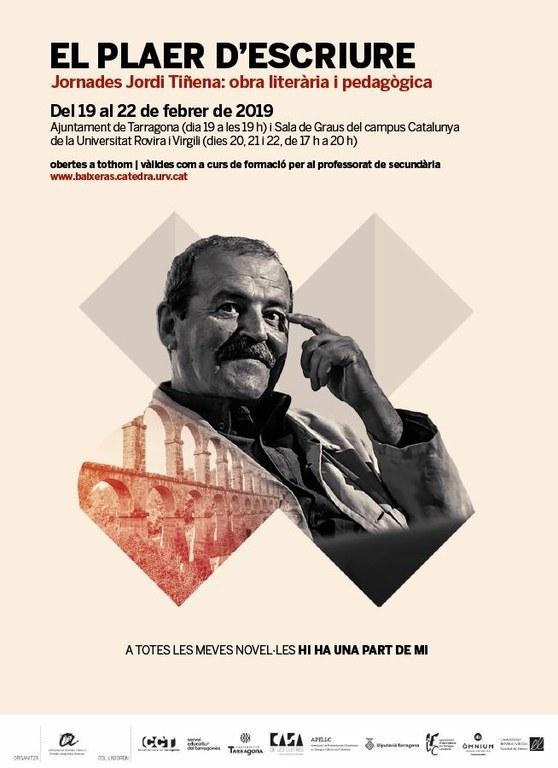 El 19 de febrer comencen les Jornades dedicades a l'obra de Jordi Tiñena