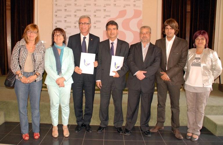 Se signa el conveni per a  la nominació de Tarragona com a Capital Catalana de la Cultura 2012