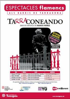 """Francis Núñez convoca una audició per seleccionar 8 ballarins que participaran als espectacles de flamenc """"Tarraconeando"""""""