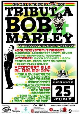 L'aMt homenatja Bob Marley i porta els seus sons als barris