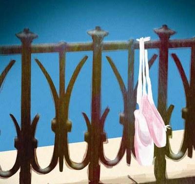 Un dels actes principals per celebrar el Dia Internacional de la Dansa és l'exhibició de clàssic a la barra del Balcó del Mediterrani