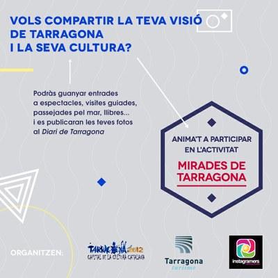 """Concurs fotogràfic """"Mirades de Tarragona"""""""