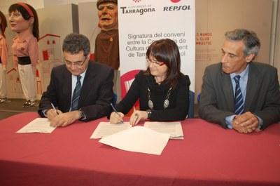 L'Ajuntament i Repsol refermen el seu compromís per la cultura