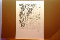 Pilar Lanau s'enduu el Primer Premi d'Obra Gràfica RECERCAT amb l'obra Landscape