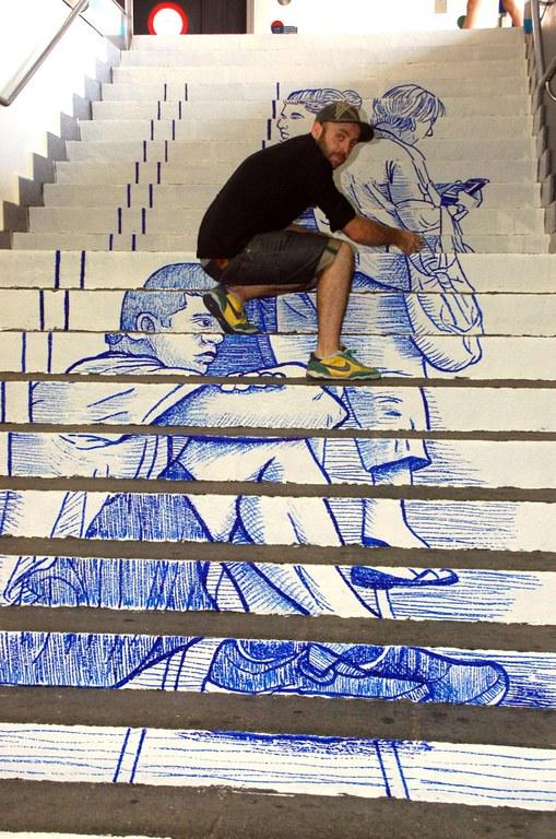 S'inaugura la segona etapa de l'Estació Creactiva amb l'artista tarragoní Tziqui Artworks