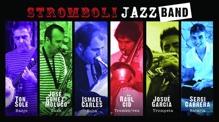 STROMBOLI JAZZ BAND presenta en concert el seu primer disc, amb motiu del seu primer aniversari
