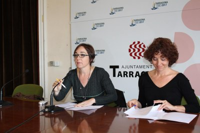 Arantxa Sagardoy finalitza la residència a Tarragona