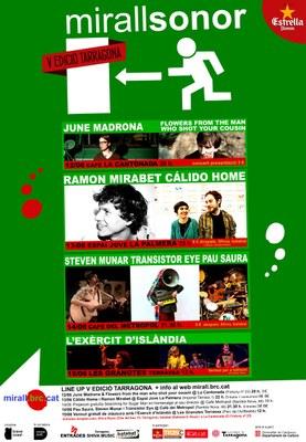 El Festival Mirallsonor completa un cartell ple de novetats per a la V edició a Tarragona