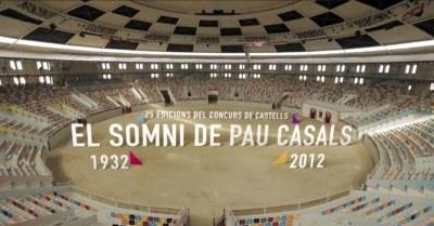 El Teatre Tarragona acull l'estrena del documental que repassa la història del Concurs de Castells