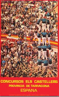 Els cartells del Concurs de Castells, exposats a l'Espai turisme