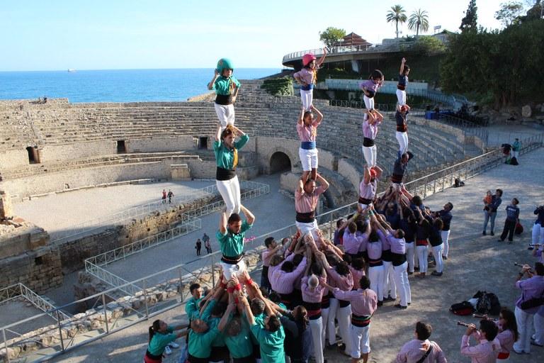 La segona edició del Tarragona, Ciutat de Castells inclou les principals diades castelleres