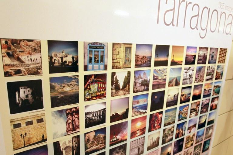 L'Espai Turisme acull l'exposició #Fotodeldia: Tarragona en 365 imatges