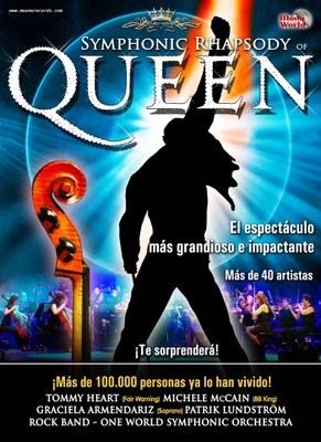 """L'espectacle de """"Symphonic Rhapsody"""" de Queen, arriba al Palau de Congressos"""
