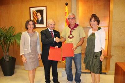Signatura de conveni de col·laboració amb Basf