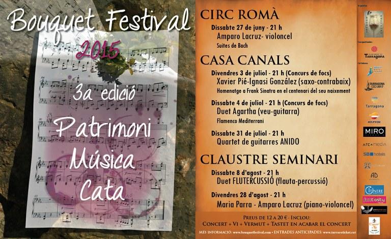 Aquest dissabte engega el Bouquet Festival a la Volta del Circ