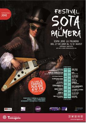 El festival 'Sota la Palmera' promou els joves creadors i la programació artística de qualitat