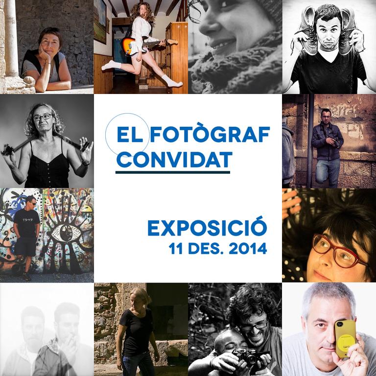 Els 12 Fotògrafs Convidats, presents a la Rambla Nova