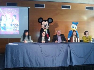 Els personatges de Disney visitaran el Palau de Congressos