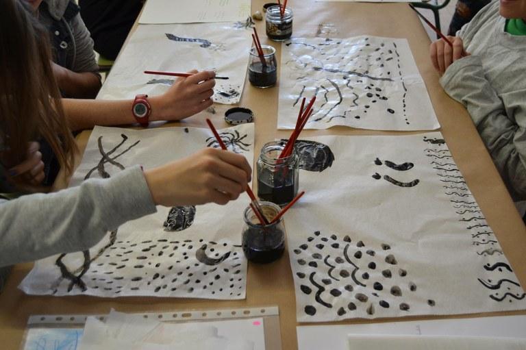 Un nou projecte d'El Teler de Llum porta els artistes a les escoles i instituts