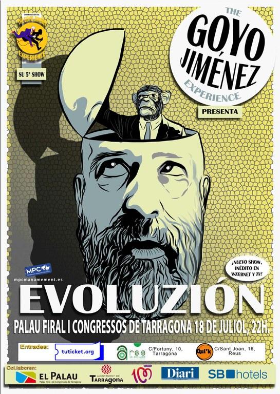 Goyo Jiménez presentarà 'Evoluzion' al Palau de Congressos
