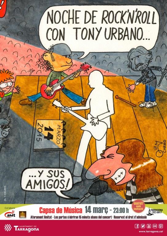 Homenatge al músic tarragoní Tony Urbano
