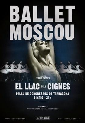 """Ja a la venda les entrades per veure """"El llac dels cignes"""", interpretat pel Ballet de Moscou, al Palau"""
