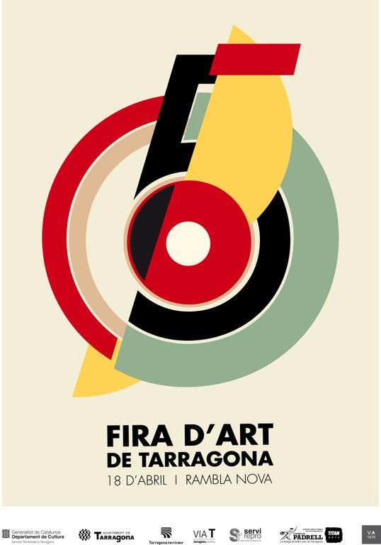 La Rambla acull dissabte la cinquena Fira d'Art de Tarragona