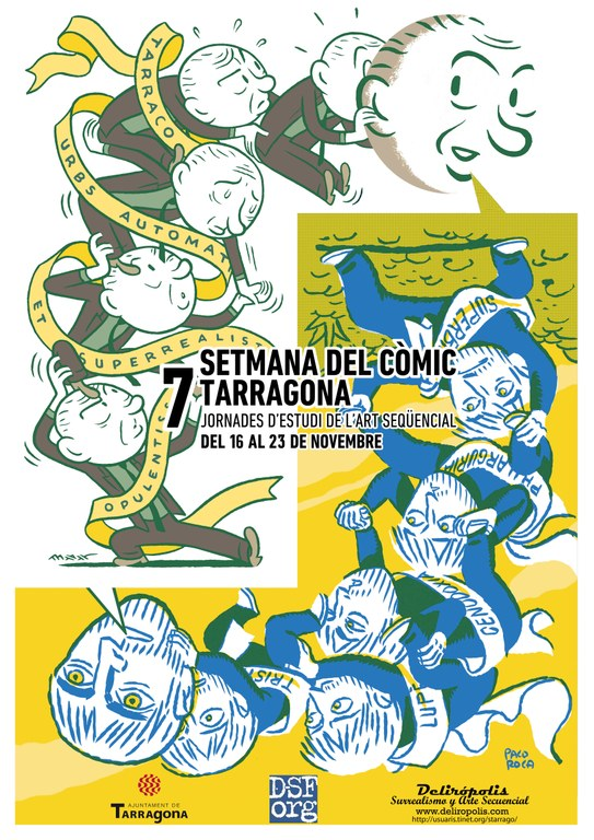 L'art del còmic torna a la ciutat en la seva 7a edició