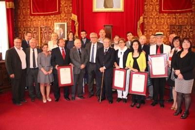 Lliurament de títols atorgats per l'Ajuntament de Tarragona