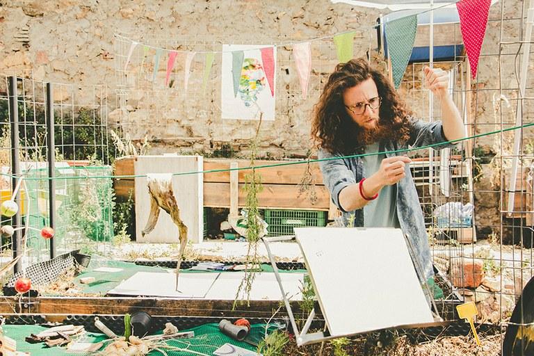 Presentació dels tallers d'Ester Fabregat i Nil Bartolozzi