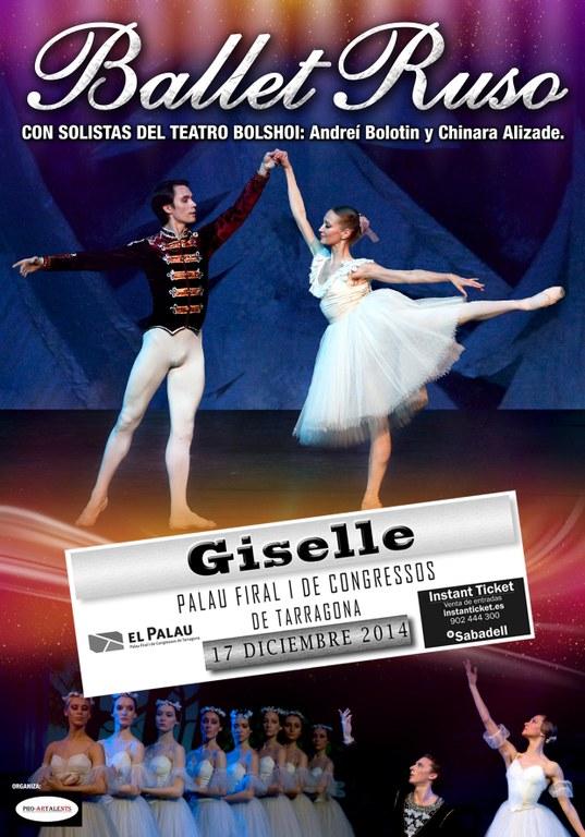 Solistes del Teatre Bolshoi actuen al Palau de Congressos de Tarragona