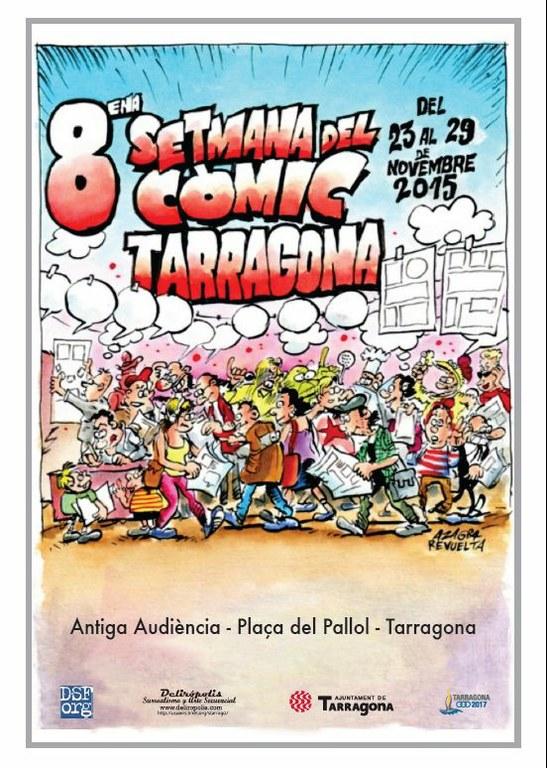 Tarragona celebra la Setmana del Còmic del 23 al 29 de novembre