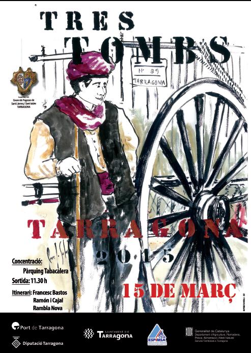 Tarragona celebra la festa dels Tres Tombs