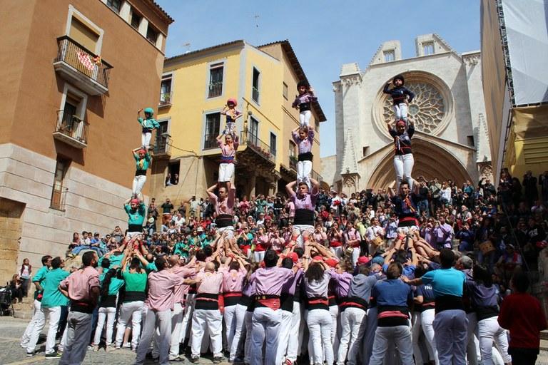 """""""Tarragona, ciutat de castells"""" doblarà el nombre d'actuacions castelleres en la seva tercera edició"""