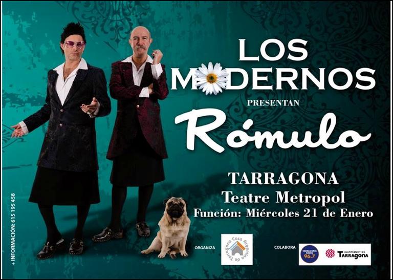 Tornen Los Modernos amb un espectacle al Teatre Metropol