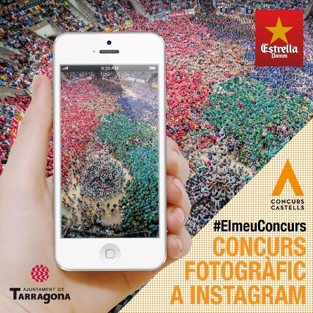 El Concurs de Castells aconseguirà una gran projecció visual a Instagram
