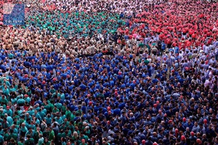 El Concurs de Castells es referma com a principal aparador del fet casteller i de Tarragona arreu del món