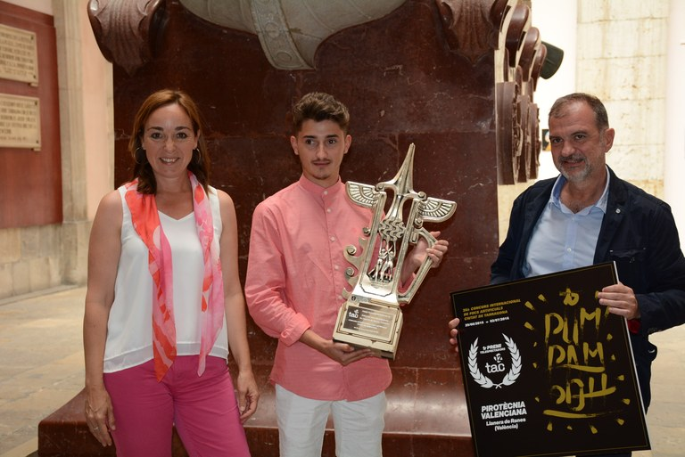 El públic del Concurs de Focs Artificials ha atorgat el premi a la Pirotècnia Valenciana