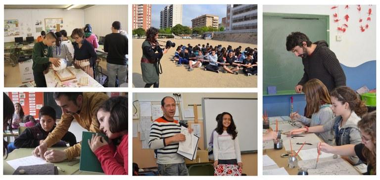 El Teler de Llum mostra els resultats del projecte 'L'Artista Va a l'Escola' del 2015